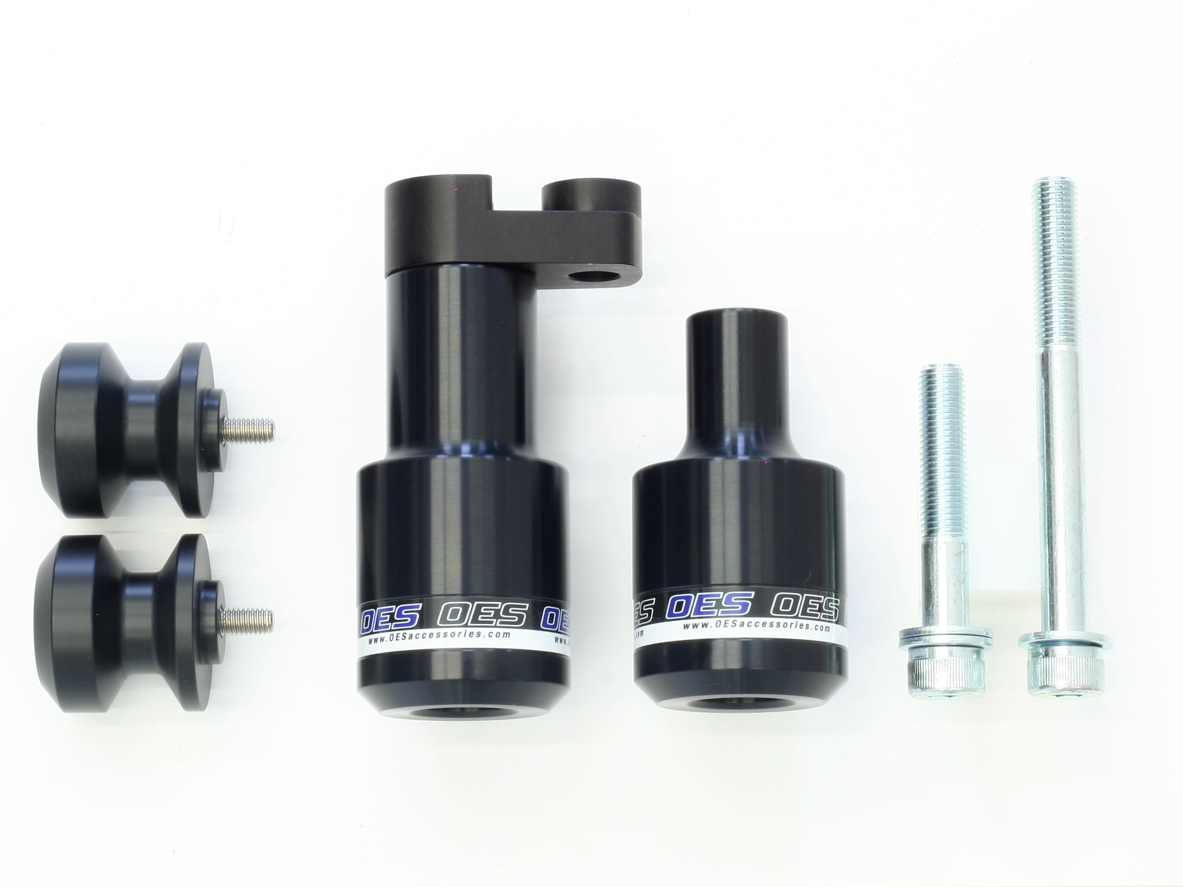 Yamaha YZF R6 Frame Sliders and Swingarm Spools 2006-2007
